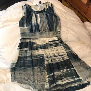 Really beautiful watercolor cotton/silk dress